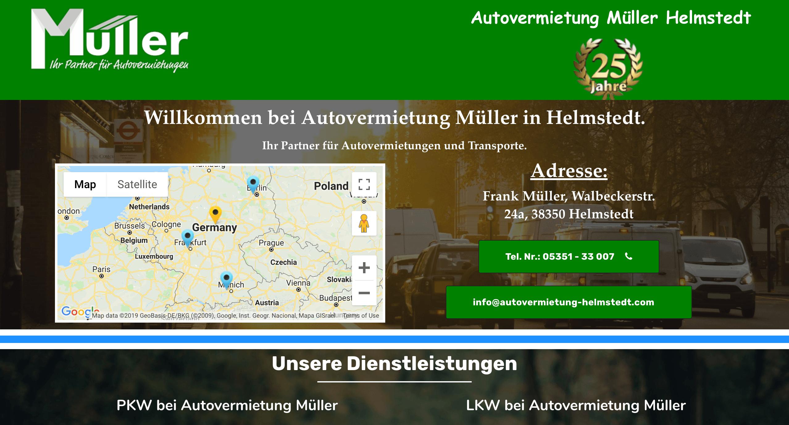 Autovermietung Müller Helmstedt