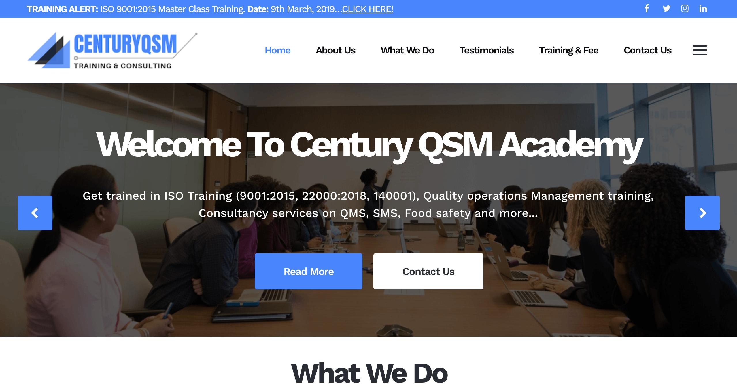 Century QSM