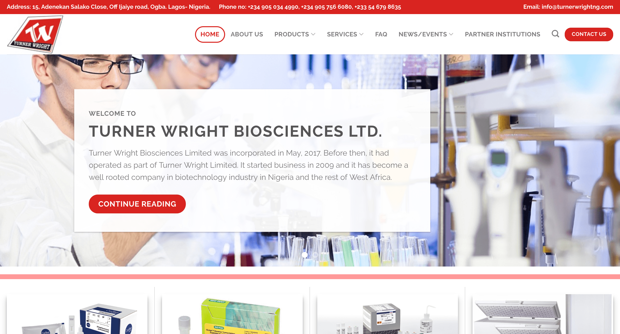 Turner Wright Biosciences Ltd.