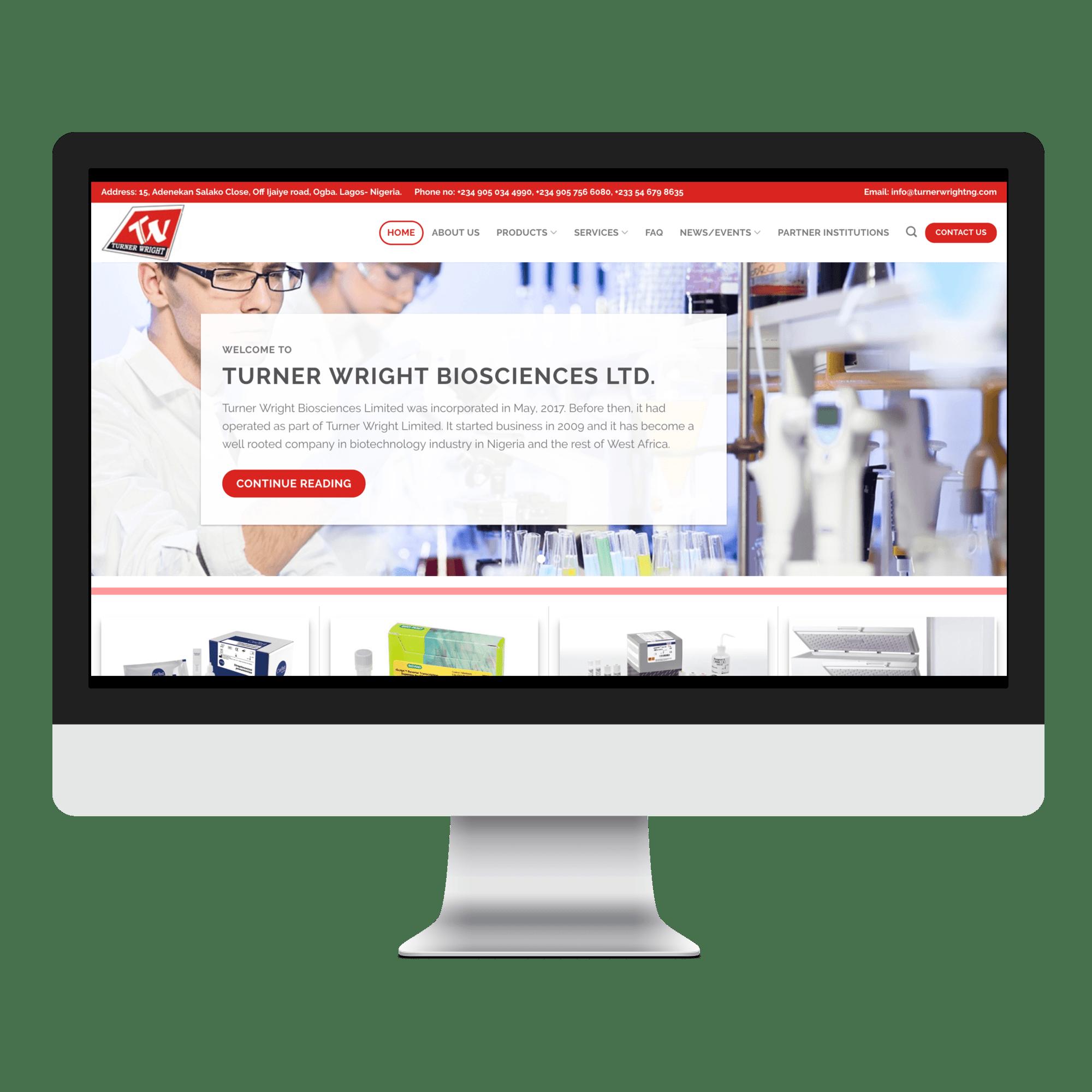 Turner Wright Biosciences Ltd