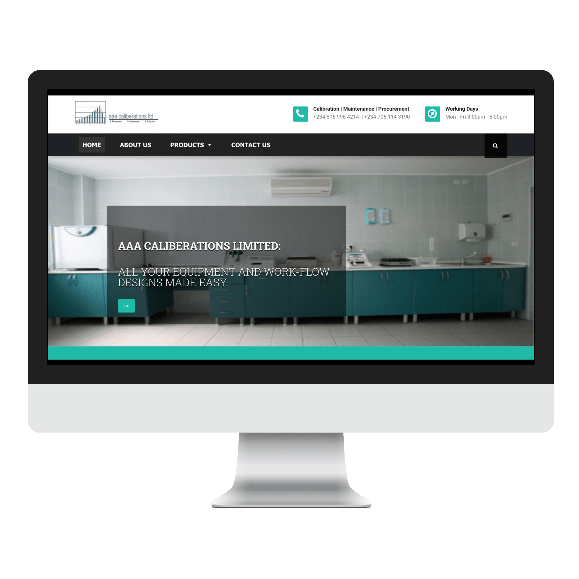AAA Caliberations Limited Website Designed by Sigmanox NG