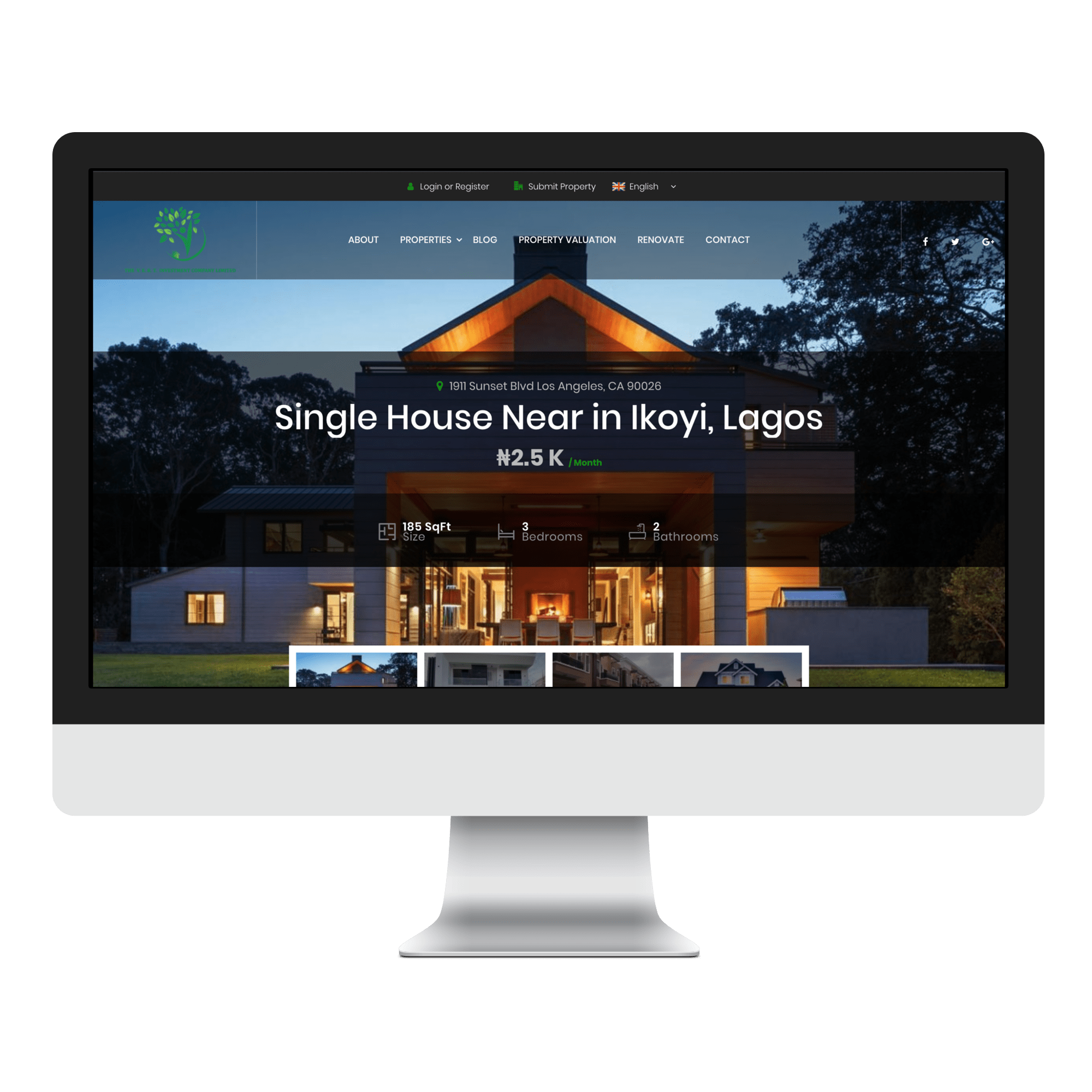 VERT Investments Limited Website Designed by Sigmanox NG